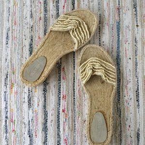 8 Old Navy Espadrilles Beaded Sandals